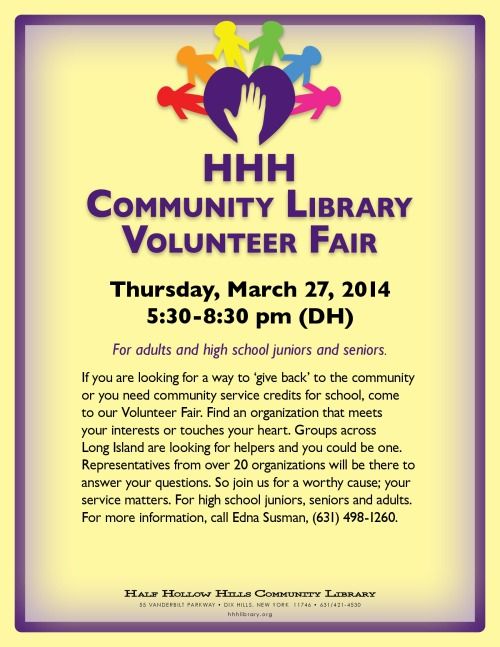 Volunteer Fair 2014