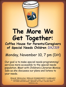 More We Get Together Coffee Hour November 10 2014